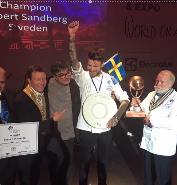 Svenska Gastronomipriset 2019 Vinnare
